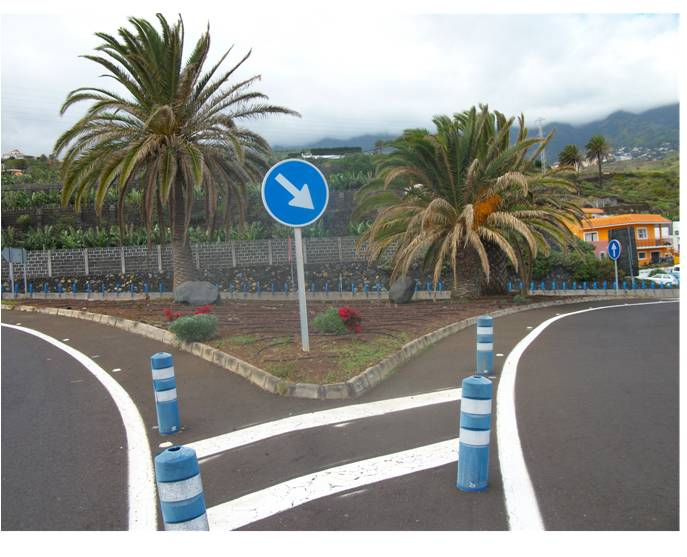 El Servicio de Infraestructuras contrata la reparación de zonas ajardinadas en las carreteras LP-2, LP-5 y LP-201.