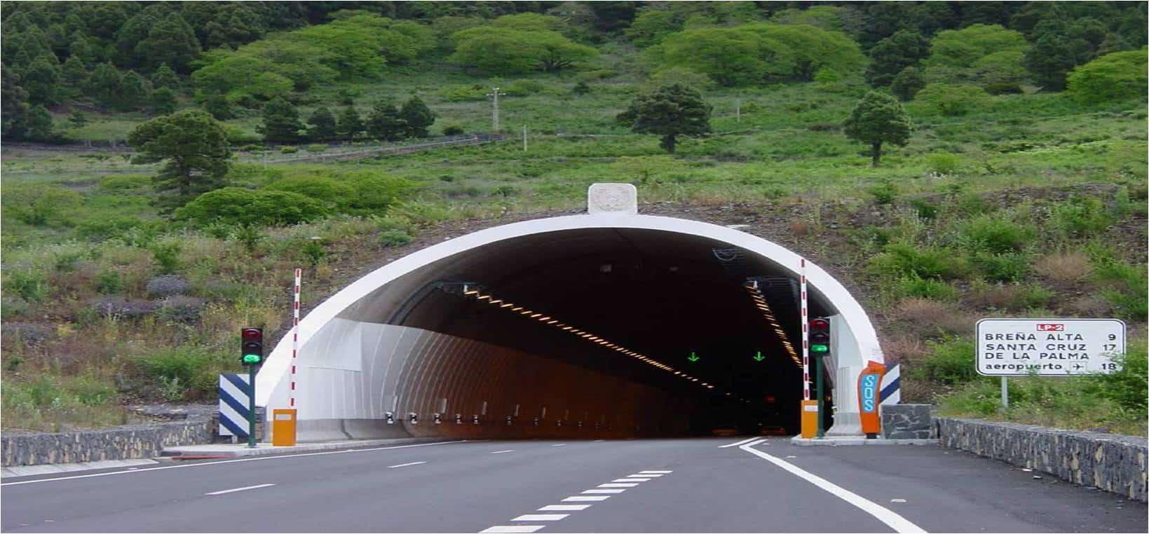 Infraestructura licita el servicio de control, mantenimiento y conservación del nuevo túnel de la cumbre y la carretera LP-20, vía exterior de Santa Cruz de La Palma.