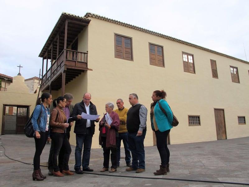 El  Cabildo de La Palma hará accesible la Casa Massieu Monteverde de Tazacorte a las personas con discapacidad