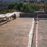 El Cabildo comienza las obras de repavimentación del primer tramo de la carretera de acceso a El Jesús, en Tijarafe