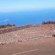 El Cabildo avanza en la construcción de un nuevo aparcamiento y mirador en el Roque de Los Muchachos