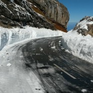 Uso obligatorio de cadenas en la LP-4 de acceso al Roque de Los Muchachos