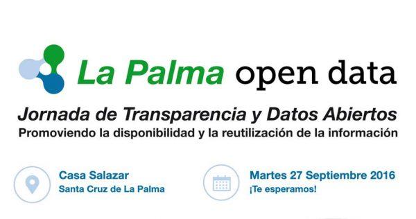 Jornada de Transparencia y Datos Abiertos La Palma.