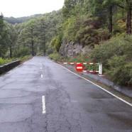 El Cabildo cierra al tráfico la carretera LP-4 de acceso al Roque de Los Muchachos