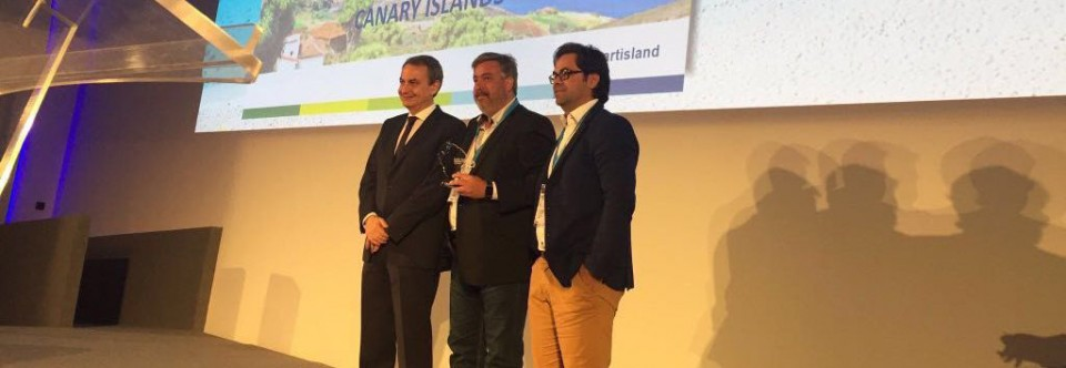 El proyecto de 'Isla Inteligente' del Cabildo La Palma recibe el primer premio del congreso mundial de 'Smart Islands'