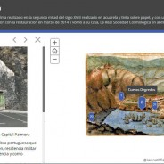 El Cabildo desarrolla una aplicación web para conocer la historia de Santa Cruz de La Palma a través de la obra 'Palmaria'