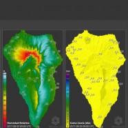 El Cabildo desarrolla un mapa online que muestra el Índice Meteorológico de Peligro de Incendios Forestales