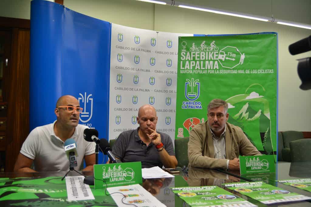 El ganador del Tour de Francia 2006, Óscar Pereiro, apadrinará la marcha ciclista 'Safe Bike La Palma'