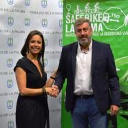 La Obra Social La Caixa favorece la participación infantil en la 'Safe Bike La Palma'