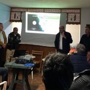 El Cabildo da a conocer a los vecinos los trabajos que solventarán los problemas de escorrentías que provocan los cortes de la carretera de El Remo