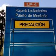 Comienzan las obras de mejora de la seguridad vial en la carretera del Roque de Los Muchachos