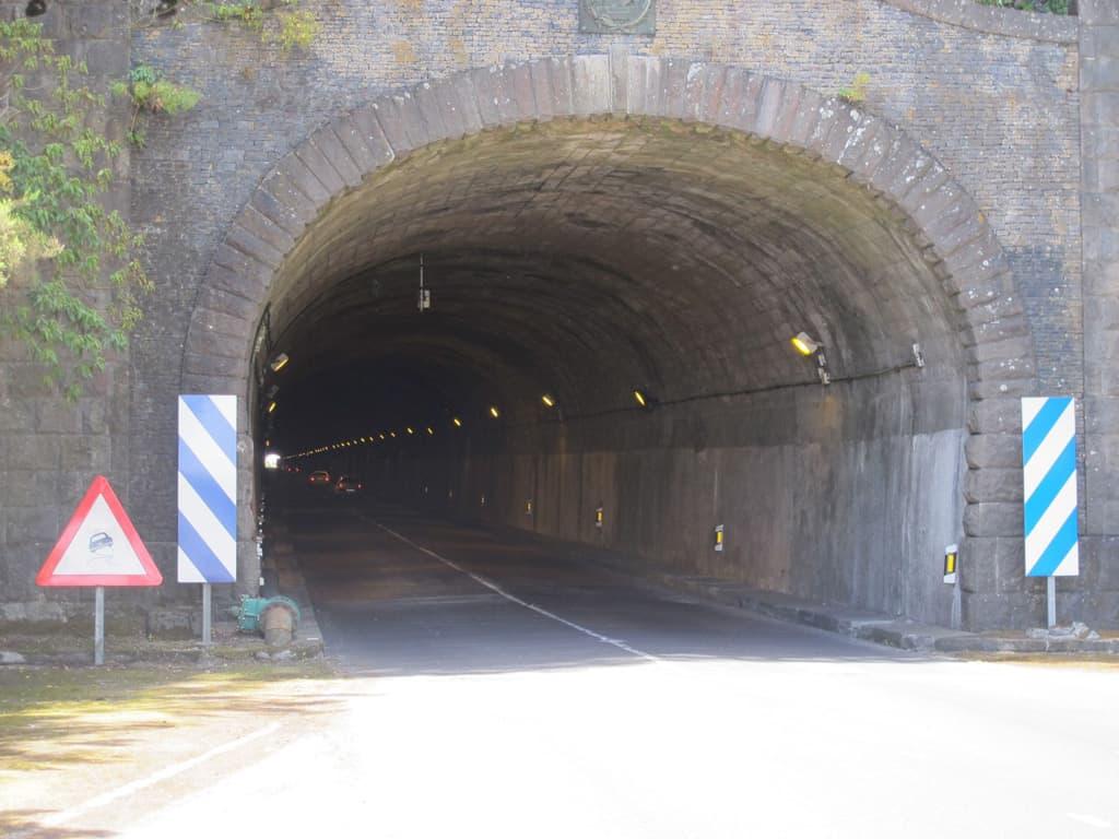 Finalizan las restricciones de tráfico nocturnas en el túnel viejo de la Cumbre
