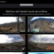 El Cabildo instala diez cámaras web que ofrecen vistas panorámicas en directo de La Palma