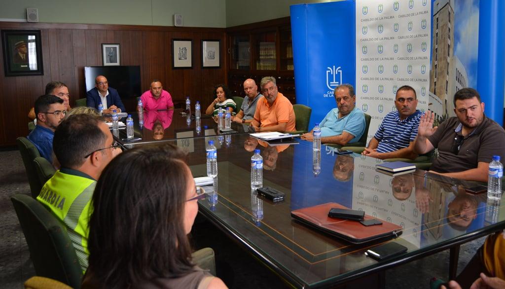 El Cabildo reduce la afección de la reordenación del tráfico en la carretera de la Cumbre