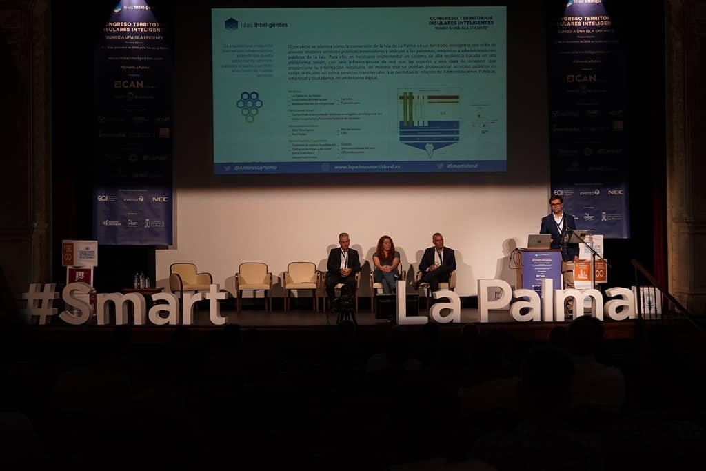 La Palma apuesta por el desarrollo tecnológico aplicado al crecimiento sostenible de la isla