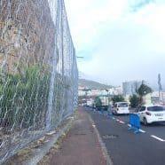 Las obras de emergencia en el Risco de la Concepción entran en su segunda fase con el saneo del talud