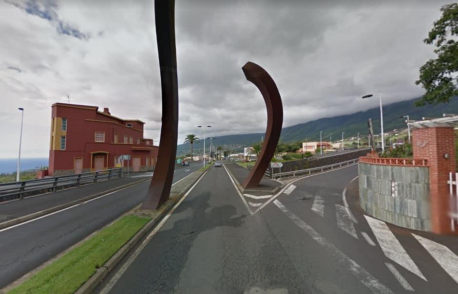 El Cabildo repavimenta el tramo de travesía de la LP-202 entre rotondas en la zona de La Concepción, en Breña Alta