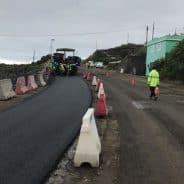Cierres en el tramo San Simón-Tajuya por la obra de acondicionamiento de la carretera LP-2