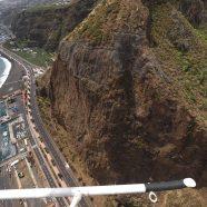 El Cabildo avanza en la última fase de las obras de emergencia en el Risco de la Concepción