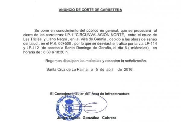 050416 Corte Carretera LP1