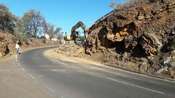 Mejora curva Pinalejo Tijarafe