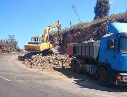 Obras Públicas adjudica la obra de la carretera de Tijarafe por 49,3 millones de euros
